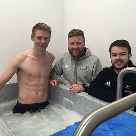 Physiotherapist Matt of BANN CryoSpa